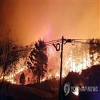 지진,발생,주민,산불,강릉,옥계면