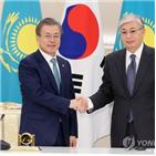 대통령,카자흐스탄,협력,양국,토카예프,한반도,한국,평화