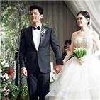 결혼식,우효광,추자현,바다,사람