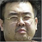 김정남,접촉,한국,정보
