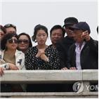 북한,방북,관광객,중국인,관광