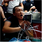 홍콩,폭력,시위,테러리즘,폭행