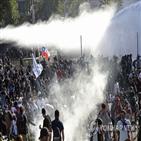 요금,시위,인상,지하철,칠레,정부,분노,시위대,비싼