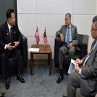 관계,총리,말레이시아,정상화,김정남,북한,마하티르