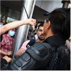홍콩,하락,지수,가능성,상황
