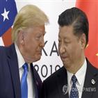 중국,홍콩인권법,미국,무역협상,대통령,트럼프,대한,홍콩