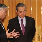 중국,한국,미국,외교부,부장