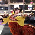 시안,도시,중국,제공,역사,소녀