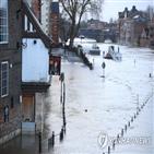 지역,영국,잉글랜드,홍수,강풍