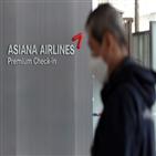 두산중공업,정부,지원,규모,아시아나항공,전날,주가,대한항공