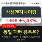 삼성엔지니어링,기관,순매매량