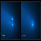 혜성,관측,아틀라스,허블,파편,조각