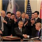 중국,합의,1단계,이행,무역합의,통화,트럼프,코로나19,구매