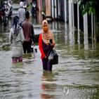 우기,인도네시아,건기,지역,주택,산사태