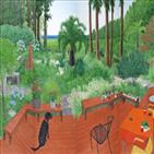 작품,풍경,나무,바다,시리즈,화백,원숭이,인물