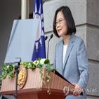 총통,대만,차이,선거,지지율,민진당,대선,위기,자신,모습