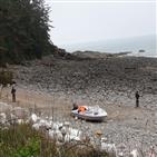 보트,해변,발견,중국인