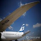 터키,이스라엘,엘알항공,화물기,팔레스타인