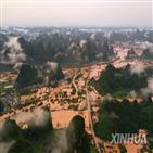 남부,중국,폭우