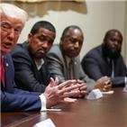 흑인,대통령,트럼프,백인,털사,미국,노예해방일