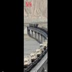 중국,훈련,양국,인도,서북지역,영상,중국군,장거리,6일