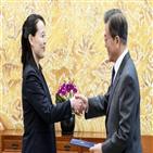 담화,김여정,제1부부장,위원장,남북관계,대통령
