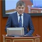 카자흐스탄,총리,코로나19,장관,입원