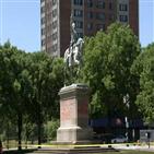 동상,시카고,워싱턴,경찰,역사,철거,미국,낙서,사건