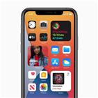 애플,기능,화면,도입,홈화면,아이폰,소프트웨어,실리콘,내용