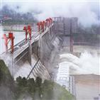 중국,수위,폭우,최대