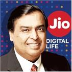 회장,암바,인도,플랫폼,지오,투자,페이스북,기업,릴라이언스,인더스트리