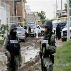 과나후아토,멕시코,살인사건,발생,마약,가장,총격