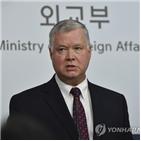 북한,부장관,미국,대한,대북,정부,대화,방한,한미,입장
