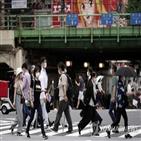 확진,신규,도쿄도,감염,코로나19,도쿄,일본,이날,급증,긴급사태