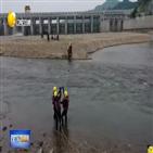 압록강,랴오닝성,홍수,단둥,훈련