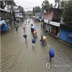 피해,폭우,지역,침수,방글라데시