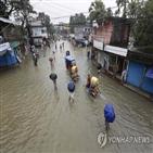 피해,폭우,지역,침수,방글라데시,국토