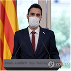 스페인,정부,휴대전화,카탈루냐,의장,토런트,해킹,분리독립,정치인