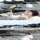 제주,김밥,한지혜,스토,바다,로망