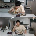 존박,비빔면,수육,요리