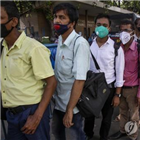 인도,치명률,코로나19,통계,사망자,분석,바이러스