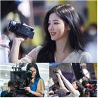 김유정,샛별,편의점,촬영