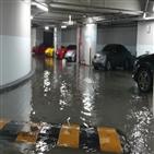 건물,침수,빗물,피해,지하,부산