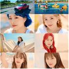 에이프릴,티저,여름,컴백