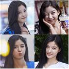 샛별,김유정,표정