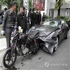 사고,오토바이,경찰,의혹,증인,불기소,총리,대한