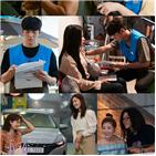 편의점,모습,샛별,촬영,김유정