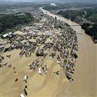 수증기,일본,예측,선상,기상청