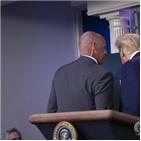 트럼프,대통령,취재진,브리핑,백악관