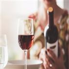 와인,판매량,장마,홈술,관련